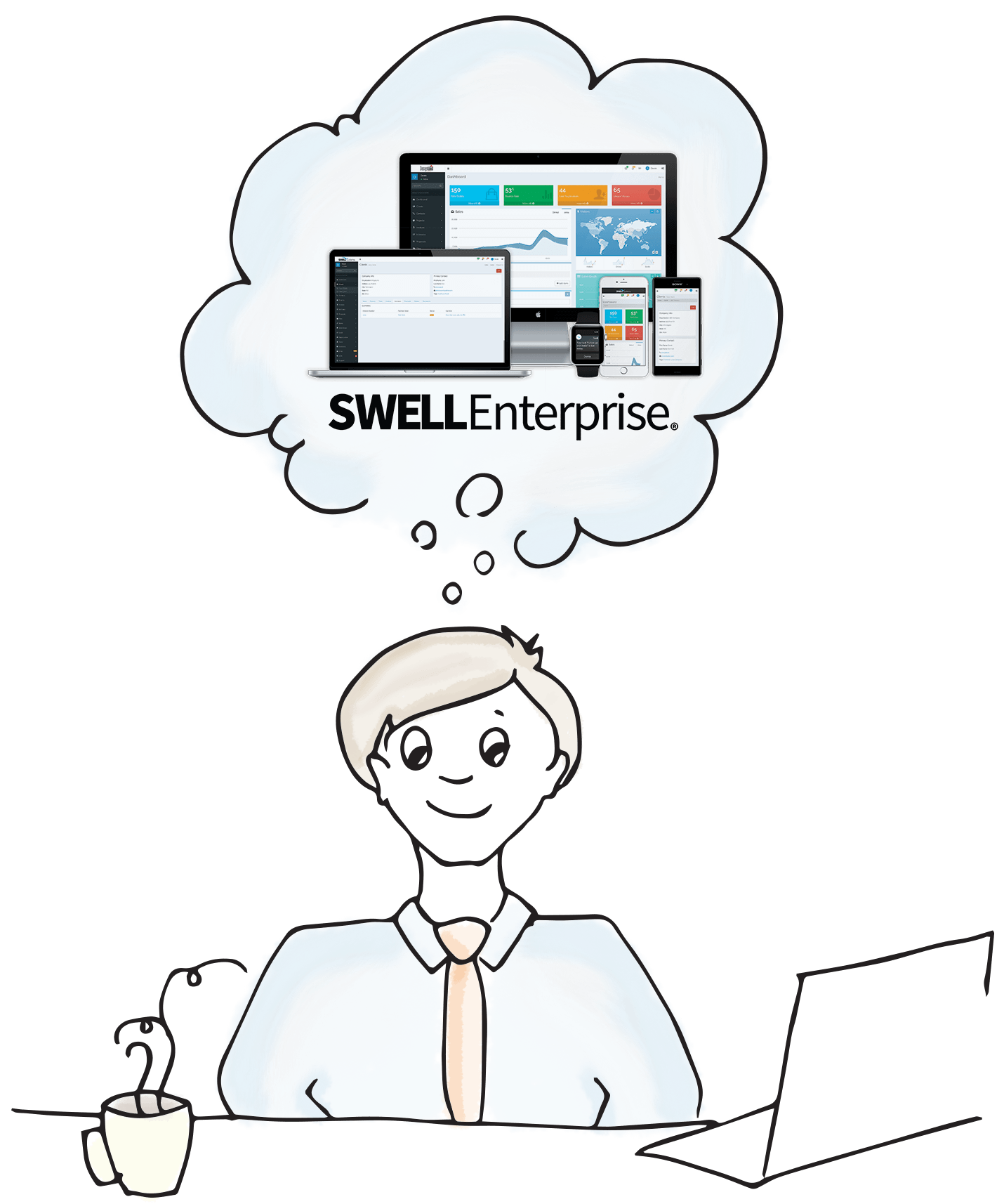 SWELLEnterprise is an enterprise-style, all-in-one suite for small business owners